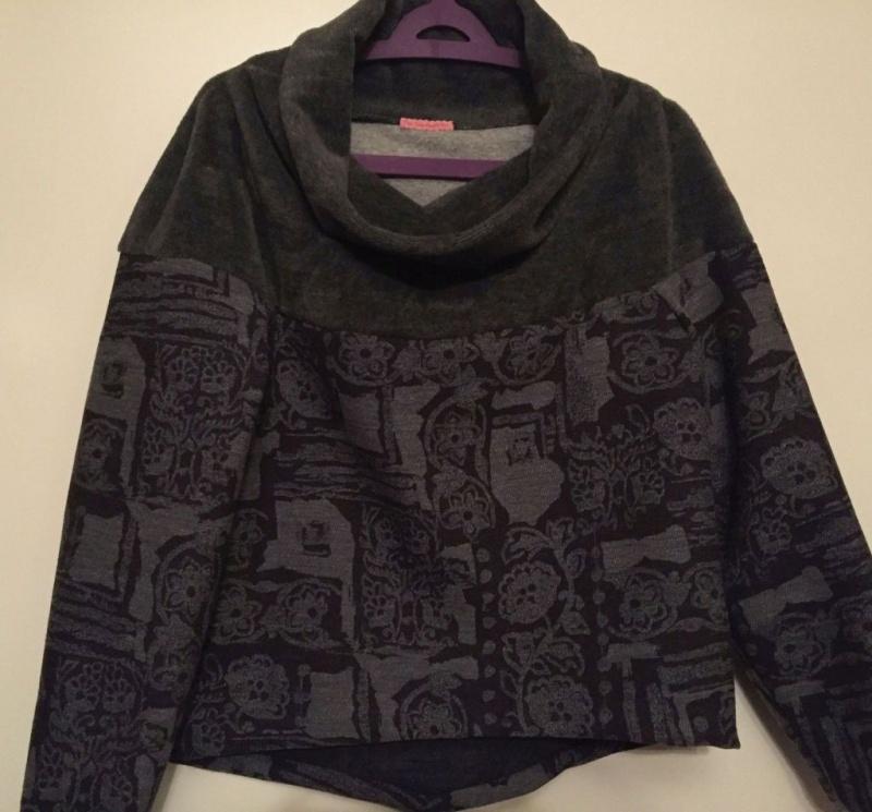 Pullover mit kuscheligem Kragen